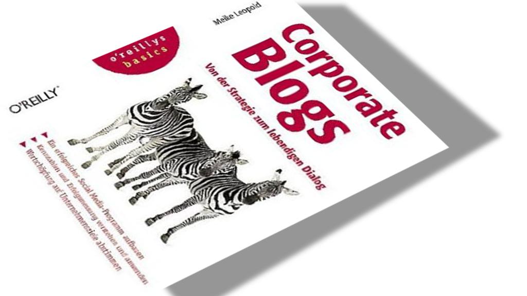 5 Sterne für Corporate Blogs - Meike Leopold - Rezension im PR-Blog aus Bremen