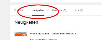 Xing - Reiter Neuigkeiten - Bloparade Staffxperts GmbH