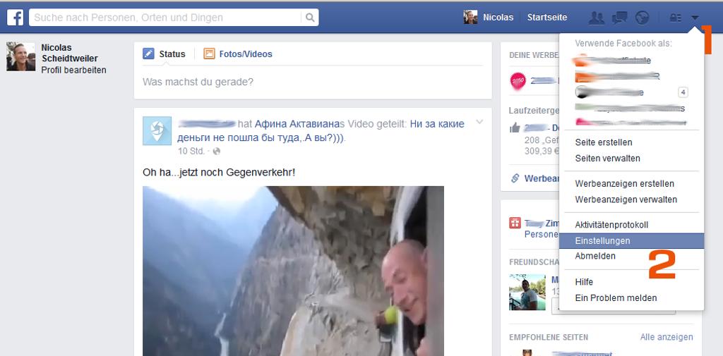 Facebook - Der Weg zur Privatspähre - Nicolas Scheidtweiler