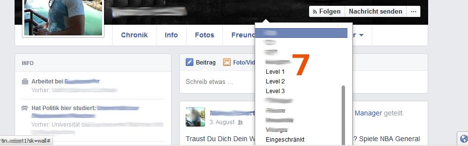 Facebook - Freunde in Listen  individuell sortieren - Tipp von Scheidtweiler PR