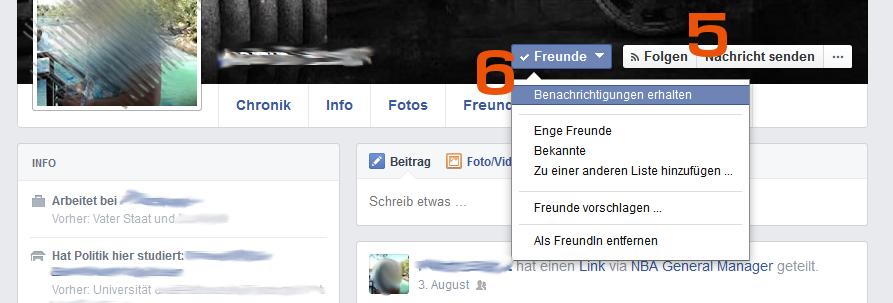 Facebook - Freunde in Listen sortieren - Tipp von Scheidtweiler PR