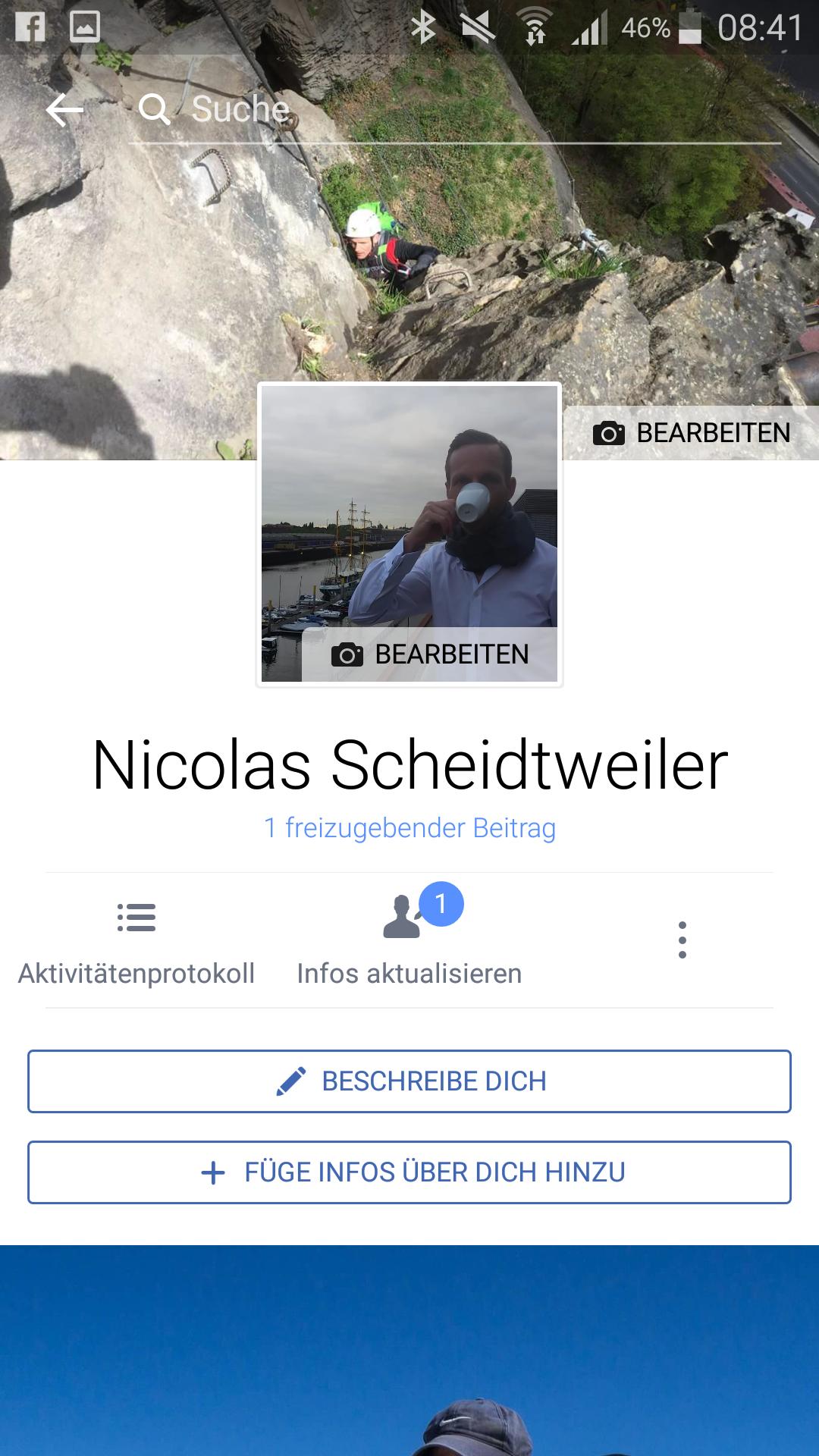 Screenshot: Das Facebook-Profil-Bild als Video - Und es bewegt sich doch - PR-Blog Bremen - Schritt 4