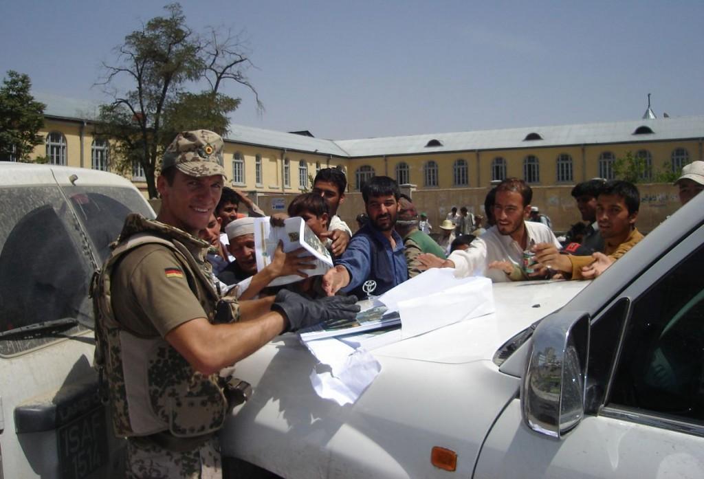 Nicolas Scheidtweiler in Kabul bei CJPOTF 2007