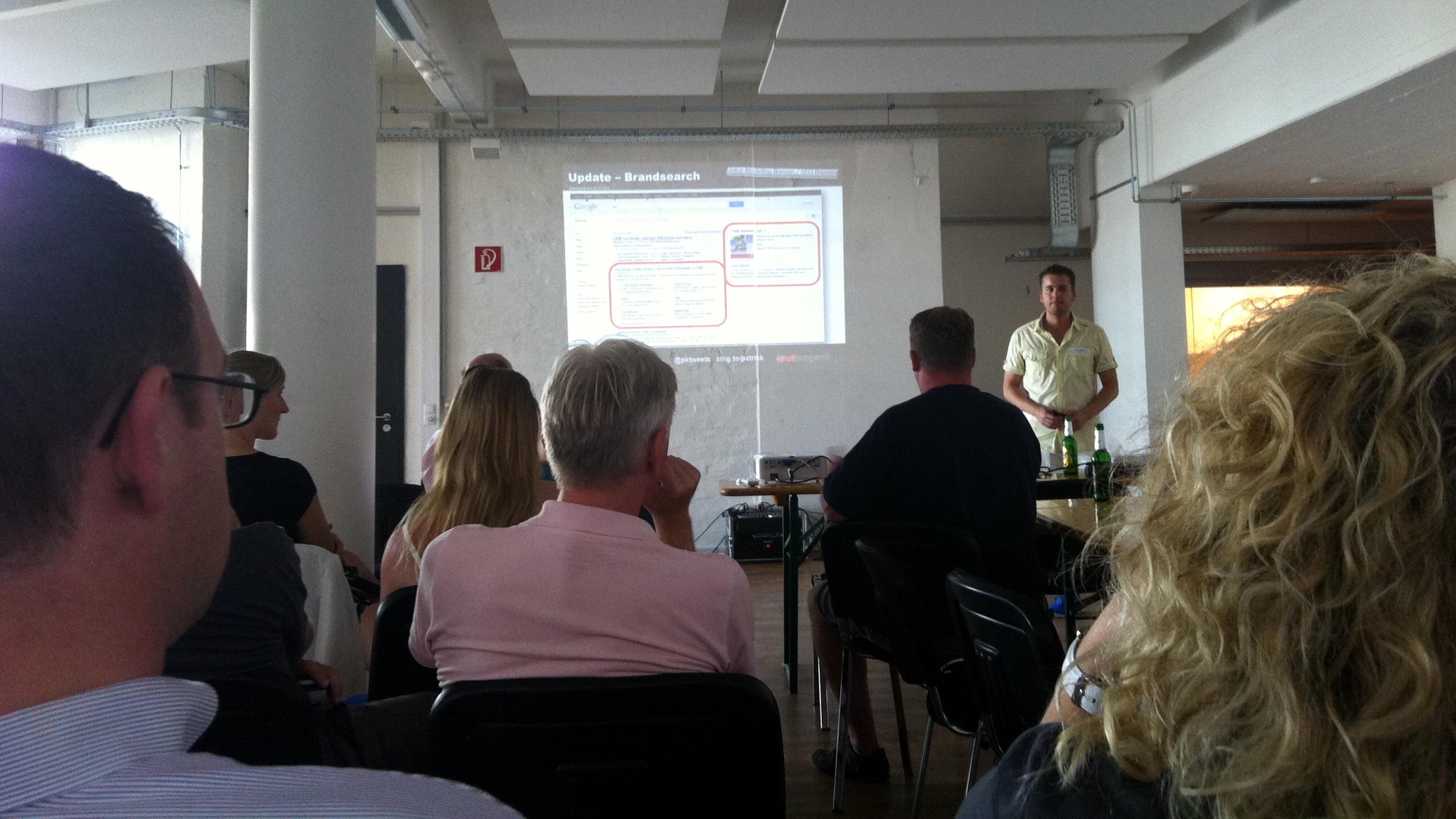 OMS Bremen- Patrick Klingberg zu SEO und Google+