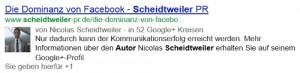 Google-Authorship Autor Nicolas Scheidtweiler