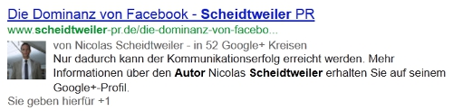 Google-Suche mit Autor Nicolas Scheidtweiler
