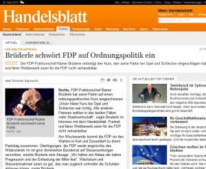 Medien Auftrag - Akzeptanz