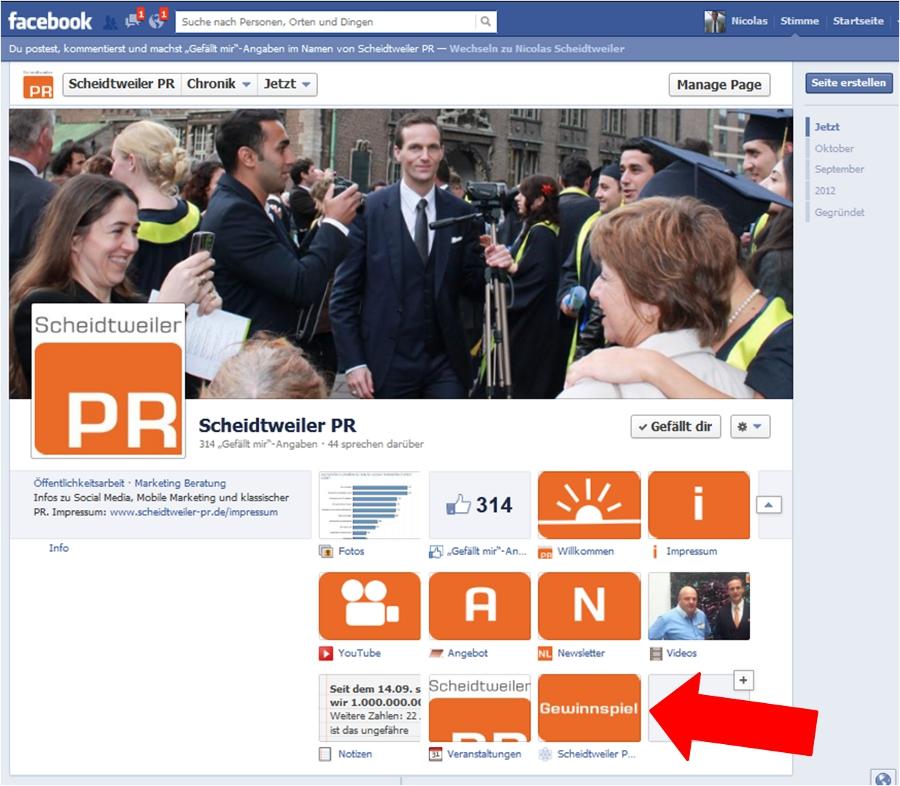 Facebook Gewinnspiel Gefahr - Scheidtweiler PR