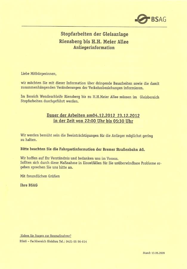 BSAG - Gute Kommunikation in Bremen