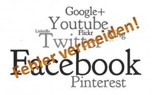 Social Media - Fehler bei Facebook