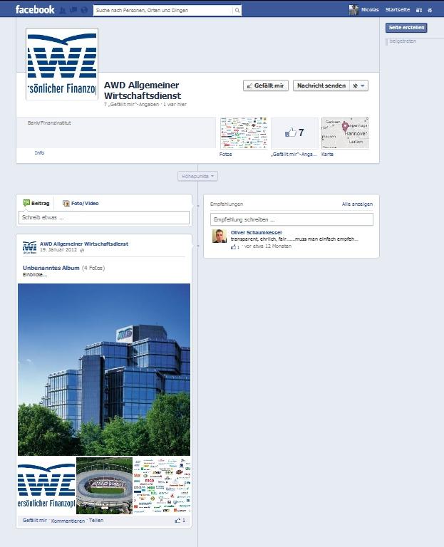 AWD bei Facebook - Social Media