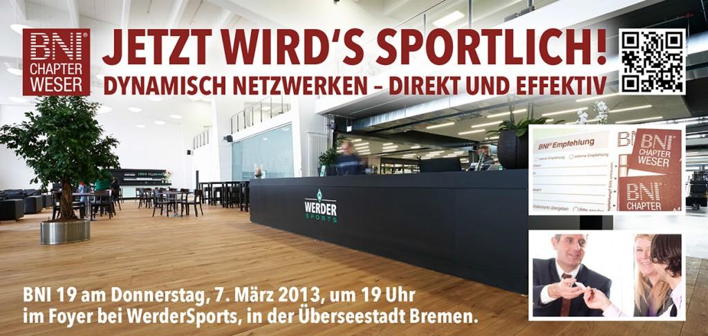 BNI Bremen Chapter Weser - Einladung zum BNI19 - Scheidtweiler PR
