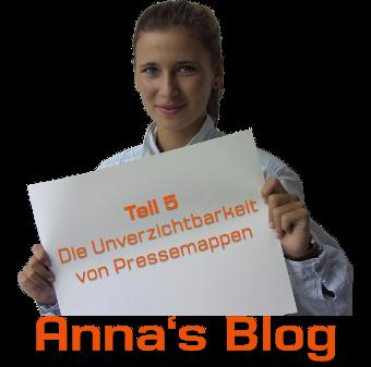 Anna Oeynhausen Blog - Die Unverzichtbarkeit von Pressemappen