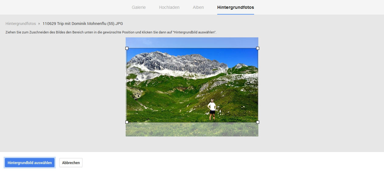 GooglePlus mit neuem Profil-Bild Änderung Schritt 3 - Scheidtweiler PR Bremen