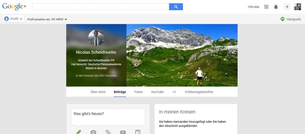 GooglePlus mit neuem Profil-Bild Schritt 4 - Scheidtweiler PR Bremen