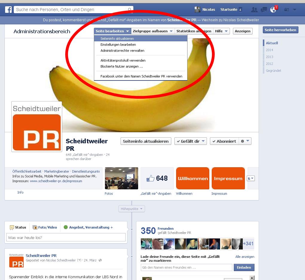Facebook jetzt mit Impressum Bild 1 - PB Bremen