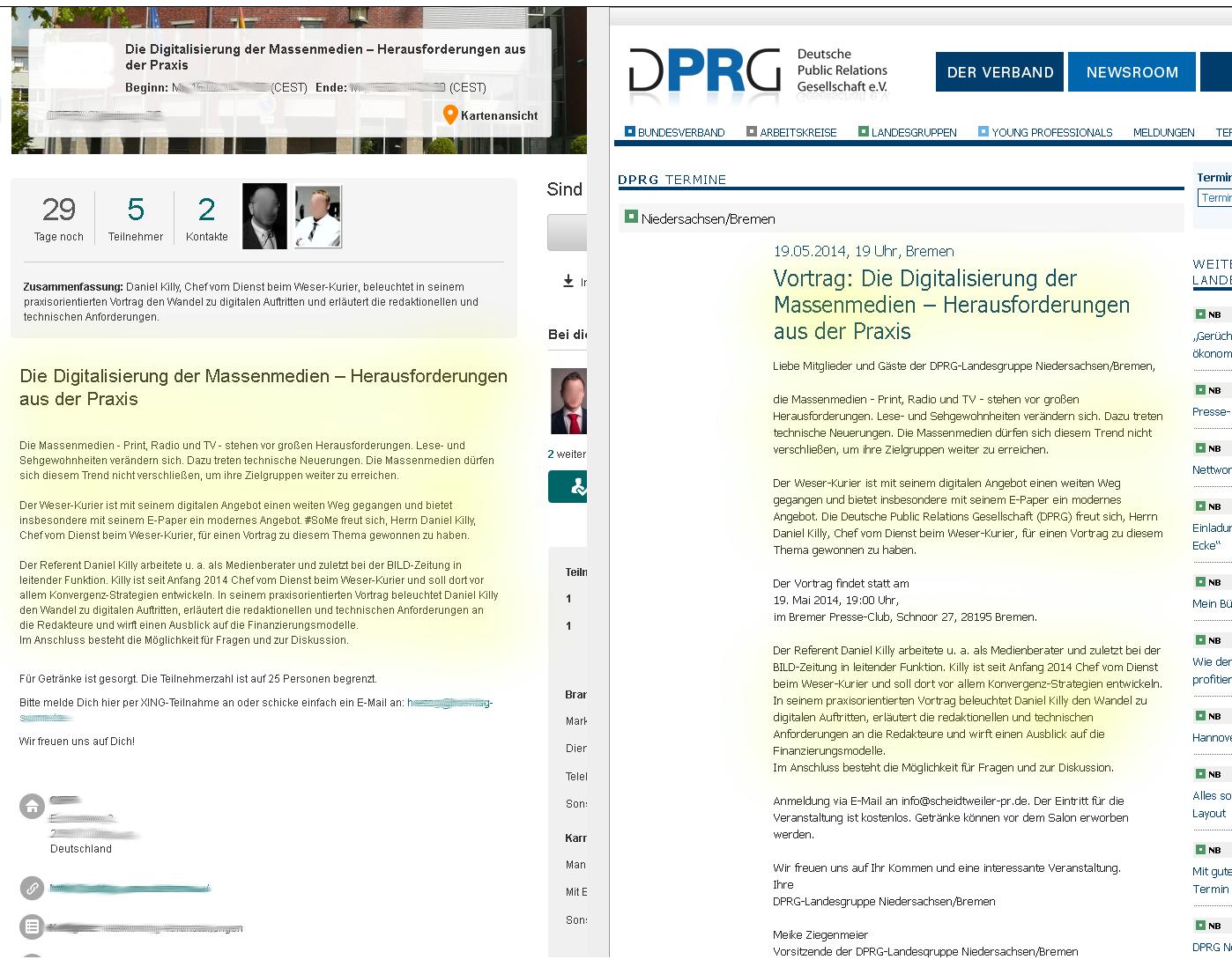Ein Plagiat ist Ehre - aber auch eine Urheberrechtsverletzung! - PR Agentur Bremen