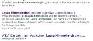 Snippet in der Google-Suche - PR Agentur Bremen