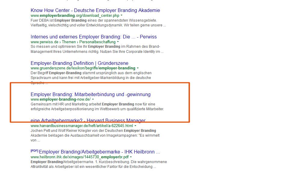 Besser bei Google stehen: Content Marketing wirkt! - 12/2014