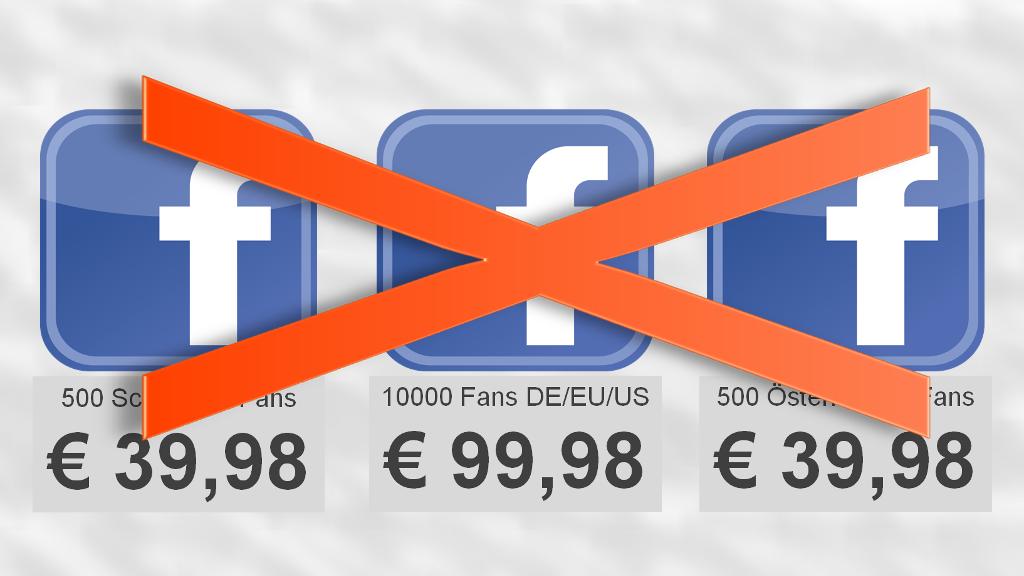 Artikel: Nie Fans bei Facebook kaufen - PR-Blog aus Bremen