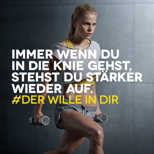Hashtag-Fail bei McFit - Der Wille in Dir - Quelle: McFit