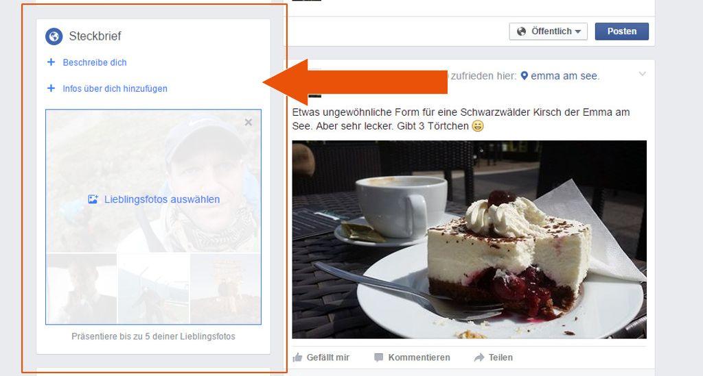 Neu bei Facebook: Der Steckbrief - interessant für Selbständige und Unternehmer