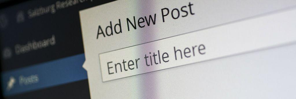 Welches ist das beste CMS für Corporate Blogger - Scheidtweiler PR-Newsletter