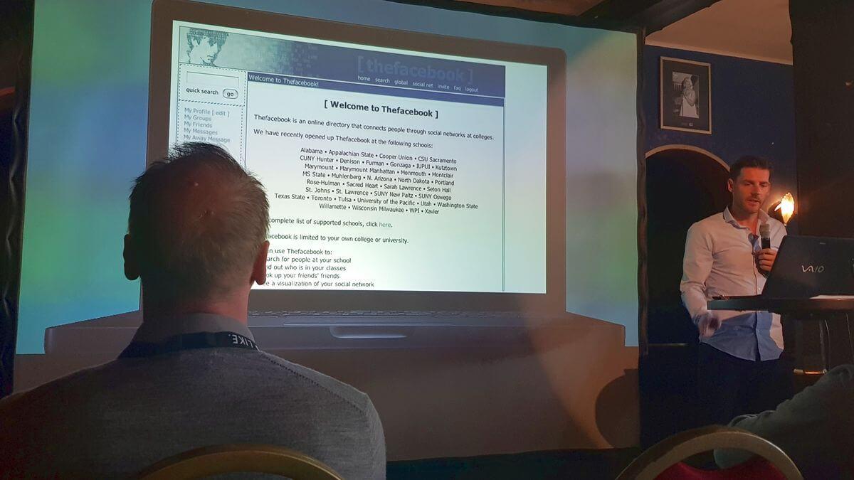 Guido Bülow über Facebook und Verlage auf der Publisher Business Conference