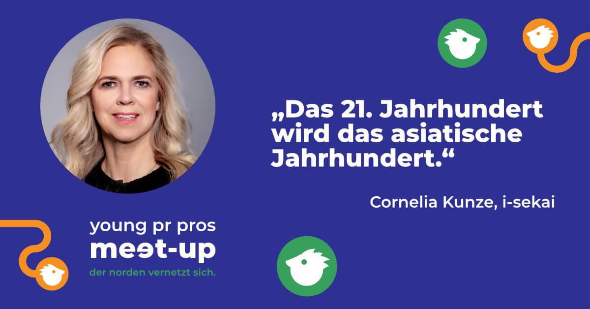 Veranstaltung Young PR Pros mit Cornelia Kunze i-sekai - PR-Blog